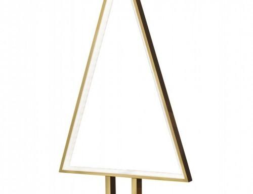 """LED Designleuchte """"Pine"""" von Sompex in Gold"""