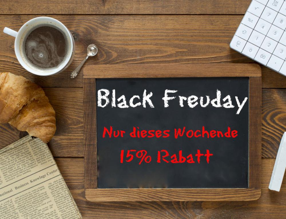 Black Freuday im Sompex Shop