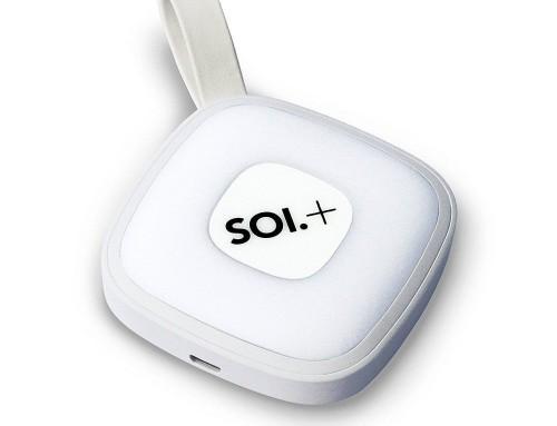 Soi+ Handtaschenlicht mit integrierter Powerbank